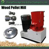 Liso morrer o tipo máquina manual da imprensa da pelota da biomassa do mini moinho de madeira da pelota para a venda