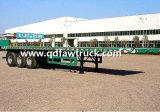 Carreta fabricantes vendem Recipiente de mesa semi reboque