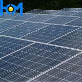 3,2 mm Trempé vitre de panneau solaire ultra-transparente avec la transmittance élevée