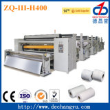 Máquina de Rewinder del papel higiénico Zq-III-H400