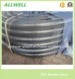 """Пластиковый ПВХ стальная проволока всасывающего шланга спирального шланга воды 1"""""""