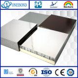 Finition miroir panneau alvéolaire en aluminium pour la décoration