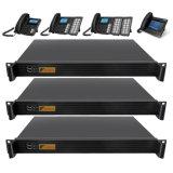 Intercom PBX IP du serveur de l'appui de 100 utilisateurs pour la station maître