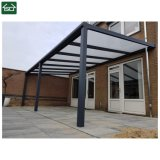 Patio en aluminium avec couvercle en polycarbonate de toit de feuille