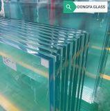 15mm 19mm 22mm ultra clair trempé de sécurité en verre trempé de chaleur