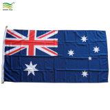 Tela de poliéster de 160 gramos hilar Bandera Nacional de Australia (T-NF05F09059)