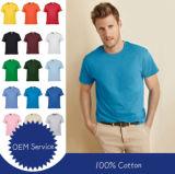 Logo personnalisé 100% coton Service OEM Livraison rapide pas cher robe de gros de vêtements Short-Sleeve T-Shirt
