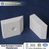 Fodera delle mattonelle di ceramica Al2O3 di 92% con il prezzo di fabbrica