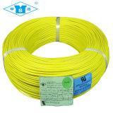Fio da trança da fibra de vidro do silicone de UL3122 20AWG