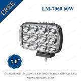 "Arbeits-Lampe des super heller 7 "" quadratischer CREE 60W Punkt-Marinetraktor-4X4 LED"