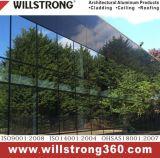 Colore metallico di alluminio del materiale composito della facciata di alluminio