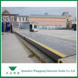 Escala de pesagem de cargas de caminhões para a Estação de Carga