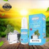 Délicieux arôme menthe sain Candy 10ml VG+Pg e e de liquide de jus de fruits