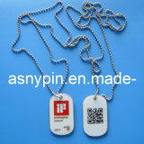 Il Ghana Metal Dog Tags per Man, Military Dog Tags per School