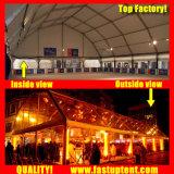 De Tent van de Markttent van het Dak van de Veelhoek van Fastup voor de Mobiele Hanger van het Vliegtuig in Grootte 35X100m 35m X 100m 35 door 100 100X35 100m X 35m