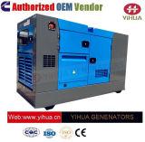 20-1500OEM kVA Cummins Diesel dosel silencioso generador eléctrico de potencia IC20180124[A]