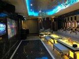 Iluminación impermeable portable ultrafina de DJ del azulejo de suelo de baile del panel LED del disco 50X50