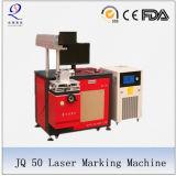 Máquina profesional de la marca del laser para el código de barras