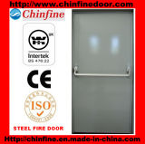 Porte coupe-feu en acier avec les BS et le certificat de la CE (CF-F012)