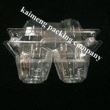Bac à oeufs en PVC transparent pour réfrigérateur (plateau à oeufs Chiken)