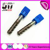 Jingnuo 4flue CNC Milingのツールの固体炭化物の端製造所