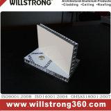 25 mm Épaisseur aluminium Panneau alvéolé