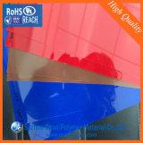 드럼 포장을%s 번쩍인 착색된 엄밀한 PVC 박판 장
