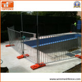 los paneles temporales modificados para requisitos particulares disponibles de la cerca de la piscina de la anchura de 1300m m x de 2500m m