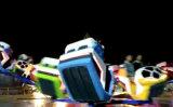 Emocionantes Paseos en los adultos danza loca carrera con 32 Riders