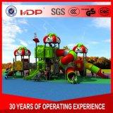 子供の現代プラスチックスライド、子供の商業屋外の運動場装置HD16-52A