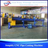 Machine de découpage ronde de faible diamètre de pipe de commande numérique par ordinateur de Kasry