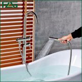 Flgの浴室によって取付けられる支えがない床の永続的なコック