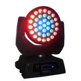 段階党(RG-M23-379)のための37*9W LEDの移動ヘッドライト