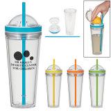 좋은 승진 Juicer 밀짚 공간 플라스틱 컵