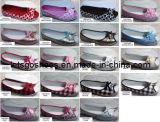 Shoes della signora (14WA873) dei pattini casuali dei pattini di tela di canapa