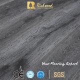 12mm Eir hölzernes hölzernes Vinyllaminat lamellierter Bodenbelag der Eichen-AC4 E1 HDF