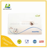 Forma dental com floss dental com chaveiro