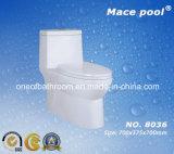 Gabinetto di un pezzo di Siphonic degli articoli sanitari della stanza da bagno (8036)