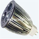 Proyector GU10 3X1w LED