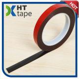 赤いフィルムの黒アクリルの二重味方されたテープVhbの粘着テープ