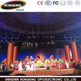 Écran polychrome d'intérieur de la Chine P3.91 DEL pour la performance d'étape