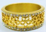 Joyería de moda fabricante de acero inoxidable hermoso anillo