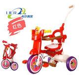 بالجملة مزح عمليّة ركوب بلاستيكيّة على لعب طفلة درّاجة ثلاثية