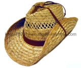 Chapéu de palha de palha de promoção Chapéu de palha personalizado / Sunhat (DH-LH91210)