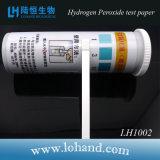 Papel de prueba del peróxido de hidrógeno usar el método colorimétrico visual (LH1002)