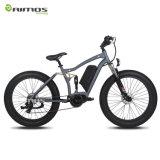 中間駆動機構電気浜のバイクの脂肪質のタイヤの電気バイク350Wモーター