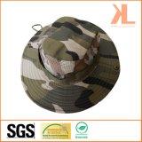 Sombreros de color caqui al aire libre del compartimiento del camuflaje del pescador/del ejército del verano para la caza