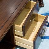 Mesa de centro longa de madeira do estilo americano para a mobília Home (AS841)
