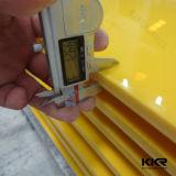 Feuille extérieure solide acrylique de Corian de diverses couleurs de Kingkonree 300