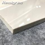 Tuiles blanches glacées lustrées intenses superbes de porcelaine de Trpoicano du plein corps 600*600